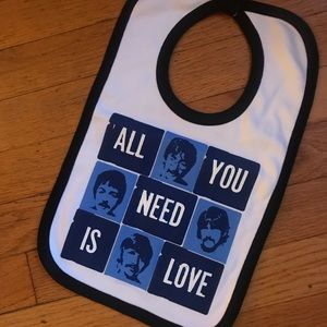 Other - Super fun Beatles baby bib! NWOT condition: